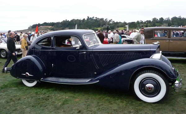 1934 Packard Eight 1101 Coupe Roadster Project - Laferriere ...